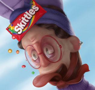 Skittles • Flip the rainbow